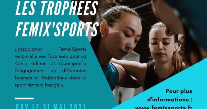 Trophées Femix'Sports 2021 – Interview de la présidente Marie-Françoise Potereau