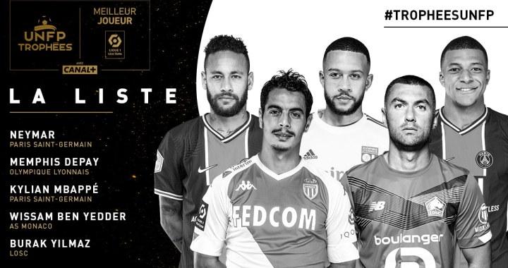 Les nommés pour la 29è édition des Trophées UNFP du Football
