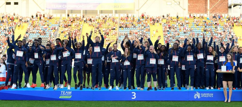 championnats d'Europe d'athlétisme par équipes