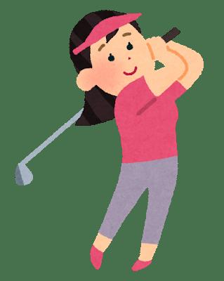 澁澤莉絵留 ゴルフ
