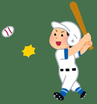 小玉百夏 野球 アクション