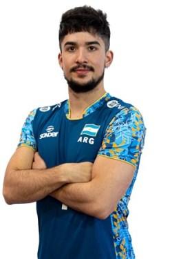 マティアス・サンチェス/Matías Sánchez、バレーボールアルゼンチン代表選手(東京オリンピック2020-2021出場)