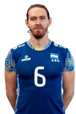 クリスティアン・ポグラヘン/Cristian Poglajen、バレーボールアルゼンチン代表選手(東京オリンピック2020-2021出場)