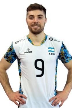 サンティアゴ・ダナニ/Santiago Danani、バレーボールアルゼンチン代表選手(東京オリンピック2020-2021出場)