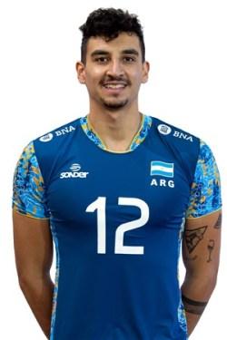 ブルーノ・リマ/Bruno Lima、バレーボールアルゼンチン代表選手(東京オリンピック2020-2021出場)