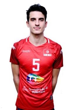 15ワシム・ベンタラ/Wassim Ben Tara、バレーボールチュニジア代表選手(東京オリンピック2020-2021出場)