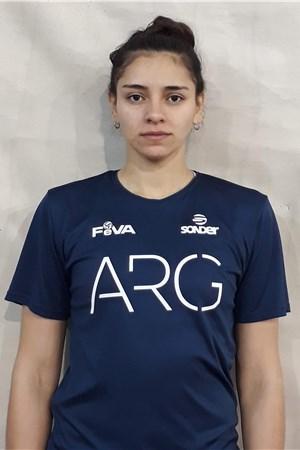 17カンデラリア・ロドリゲス/Candelaria Lucia Herrera Rodriguez、バレーボールアルゼンチン代表選手(東京オリンピック2020-2021出場)