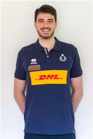 19ダニエレ・ラビア/Daniele Lavia、バレーボールイタリア代表選手(東京オリンピック2020-2021出場)