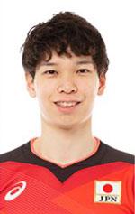 山内晶大,男子バレーボール日本代表,2020年度登録選手
