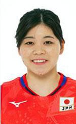 吉野優理,女子バレーボール日本代表,2020年度登録選手