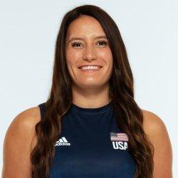テトリ・ディクソン、バレーボールアメリカUSA代表女子選手