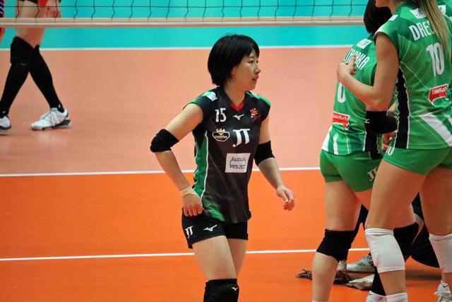 バレーボール選手、小幡真子