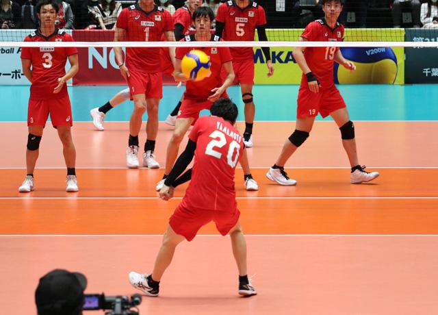 男子バレーボール選手、全日本代表