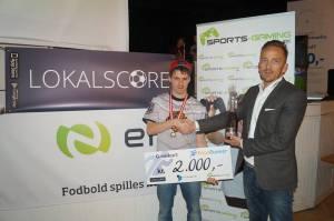 Lars Korreborg sluttede ved sidste års PriceRunner Cup på en 2. plads