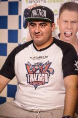 Hassan Al-Saraf under et interview med TV2 forud for Sommerbold E-Sport-finalen.