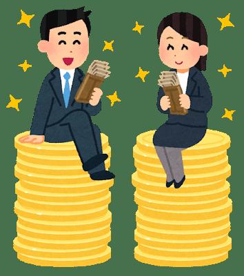 男女の給料