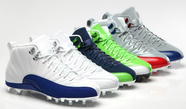 This is the football cleat design of the new Air Jordan. (Nike)