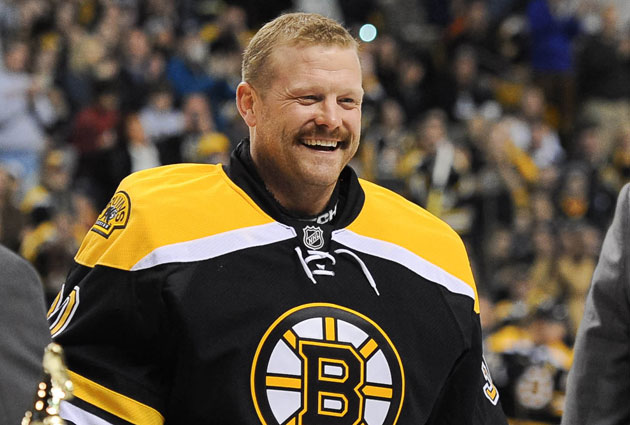 Tim Thomas has only played for the Bruins in his NHL career so far. (USATSI)