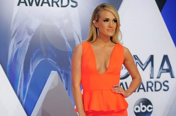 Carrie Underwood had some fun at Predators F Ryan Johansen ...