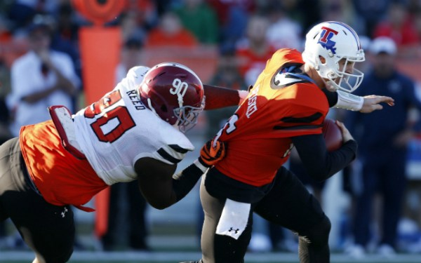 Noah Spence and the DL talent shines at the Senior Bowl ...