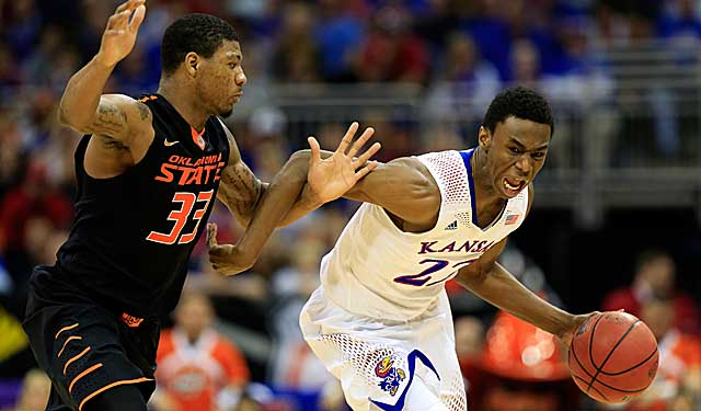 Driving on Marcus Smart, Andrew Wiggins scores 30, and has 71 over two games. (USATSI)