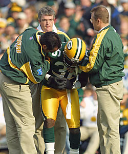 Ex-Packers safety LeRoy Butler knows how dangerous it is to play the position. 'You're body just can't take it.' (Getty Images)