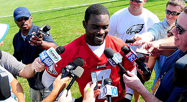 Michael Vick has been vocal about the negative impact on the NFL of player arrests. (US Presswire)