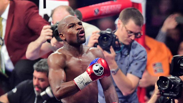 Mayweather I Will Relinquish All Belts On Monday