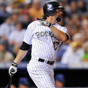 Todd Helton has been a big part of the Rockies resurgence after the firing of Clint Hurdle and has hit over .300 every month this seaon.