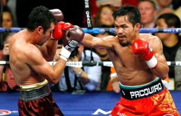 Photo of 'Thrilla in Manila', Pacquiao-De La Hoya among Arum's most memorable fights