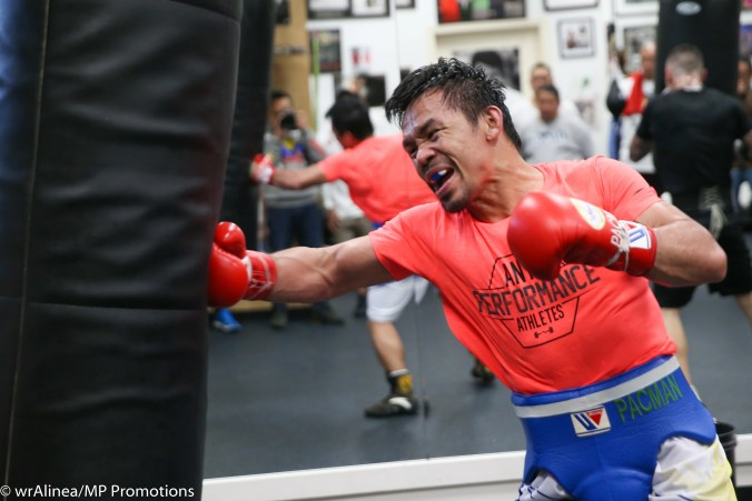Pacquiao: in the homestretch
