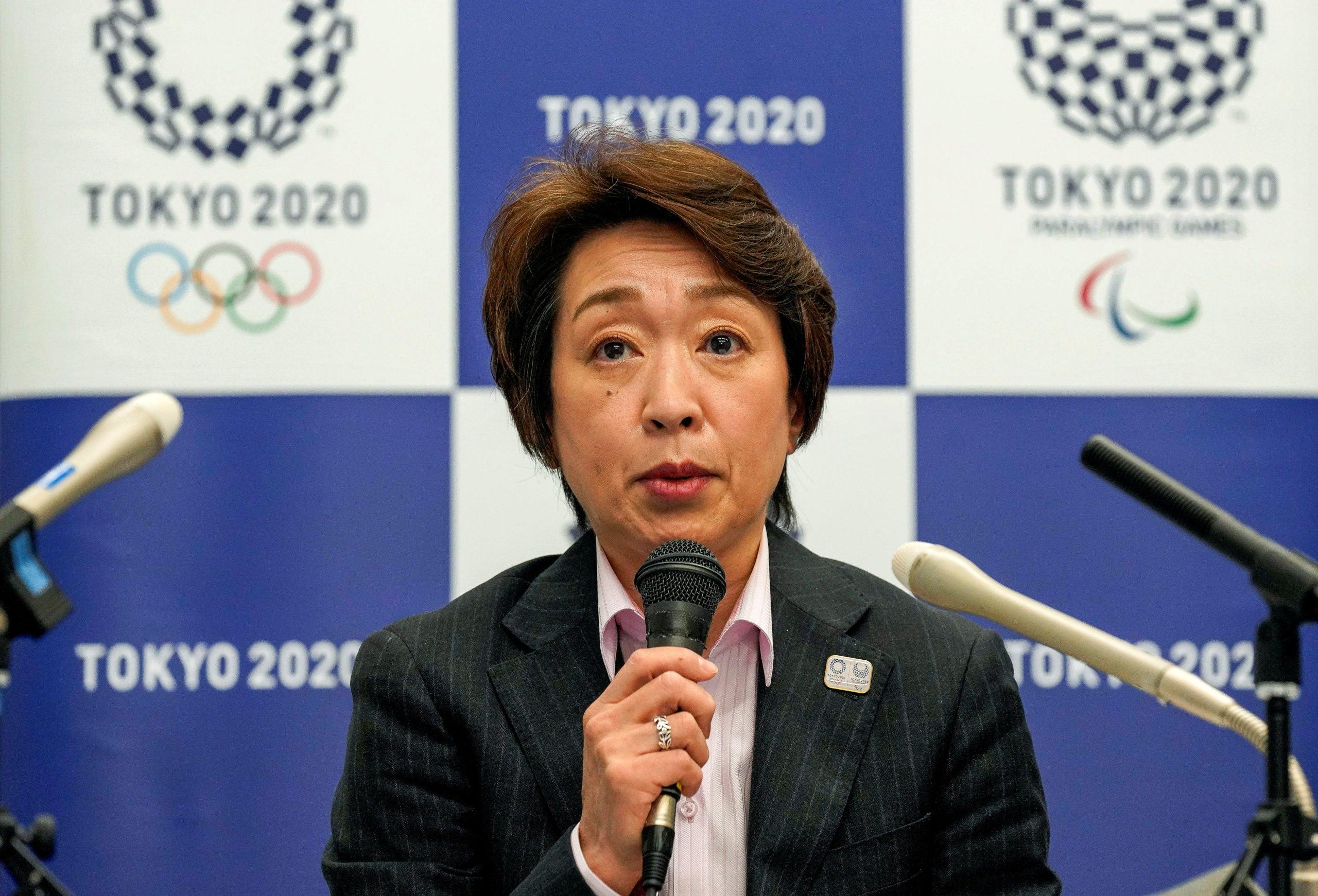 Tokyo Olympics Seiko Hashimoto, president