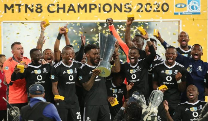 Orlando Pirates clinch the 2020 MTN 8 trophy