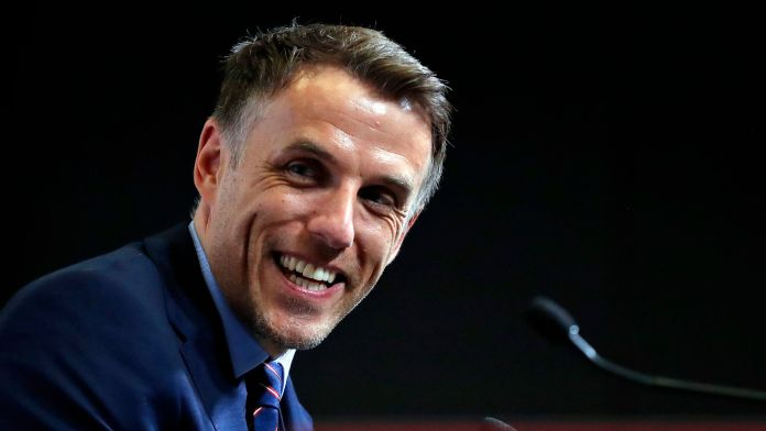 Phil Neville will try his hand at management in the MLS with Inter Miami