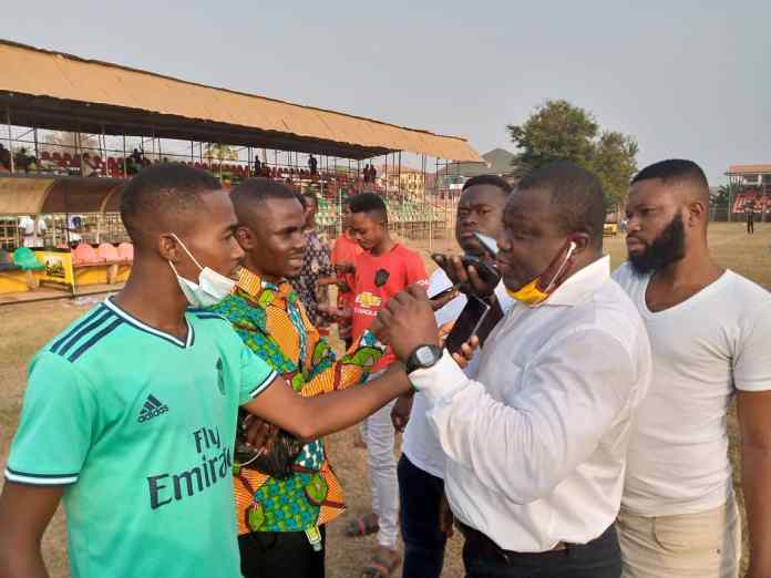 Head coach of Real Tamale United (RTU), Shaibu Ibrahim Tanko