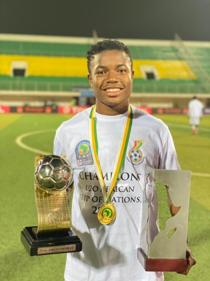 Abdul Fatawu Issahaku emerged Player of the Tournament after Ghana's triumphant display at the just-ended U20 AFCON in Mauritania