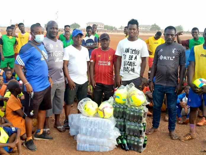 The donation by Uzairu