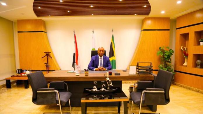 President Motsepe takes his office at CAF headquarters