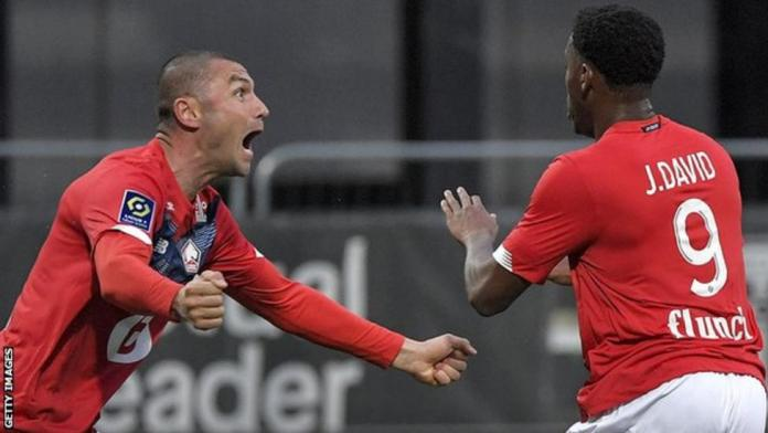 Jonathan David and Burak Yilmaz have scored 29 goals between them in all competitions for Lille this season