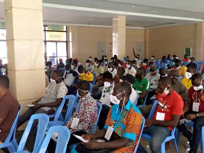 Delegates and participants