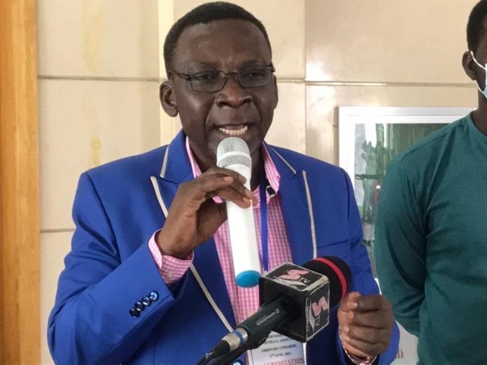 NRFA Boss addressing Congress