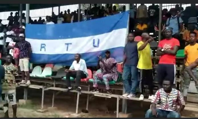 Some RTU fans in Sunyani