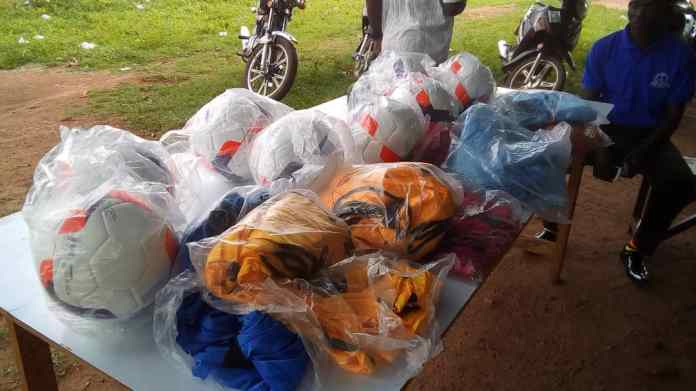 The items donated