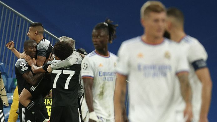 Real Madrid crashed to a shock 2-1 defeat at home to Moldovan champions Sheriff Tiraspol