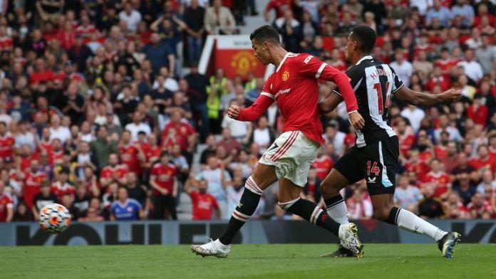 Ronaldo scores against Newcastle