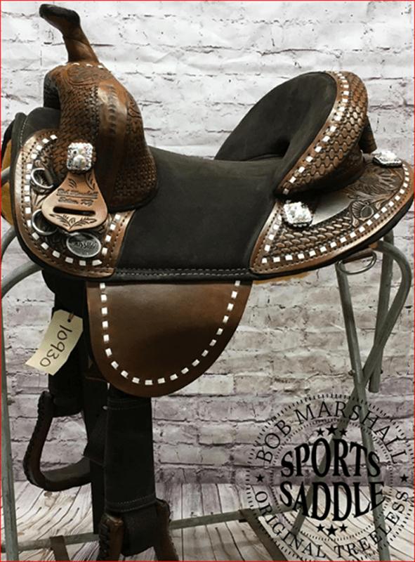 bob marshall sports saddle treeless barrel racer