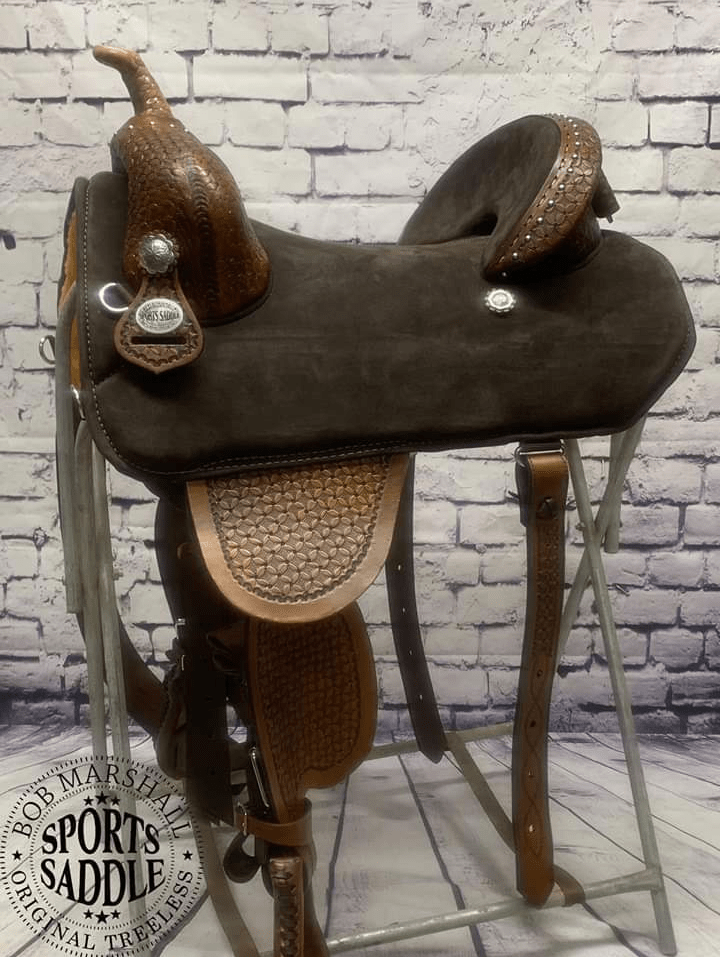 Equestrian horse saddle barrel