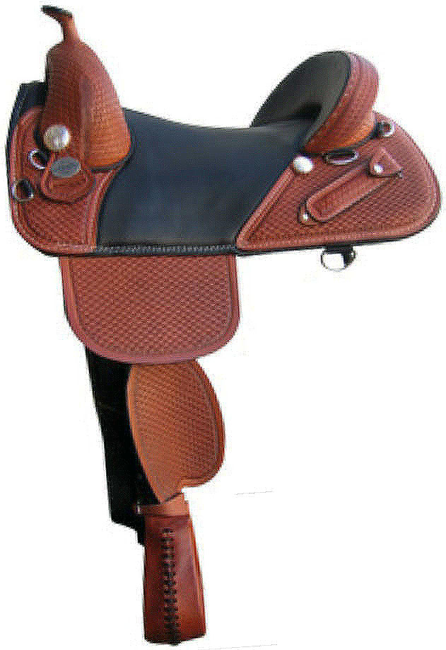 bob marshall sports saddle treeless wrangler trail rider