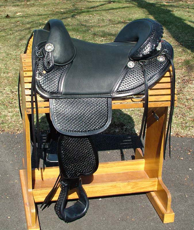 bob marshall custom Equestrian Horse Saddle endurance