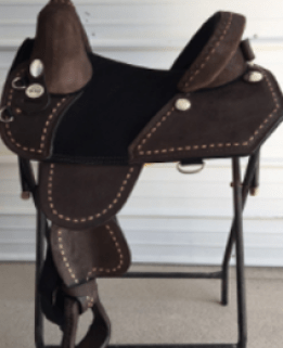 CHOCOLATE ROUGHOUT TRAIL RIDER